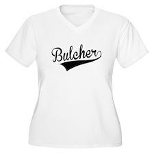 Bulcher, Retro, Plus Size T-Shirt