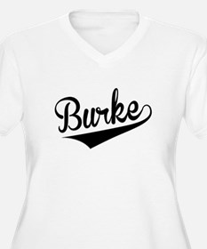 Burke, Retro, Plus Size T-Shirt