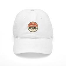 Authentic curler Baseball Cap