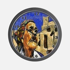 Pueblo Woman Wall Clock