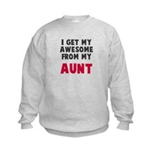 Awesome from aunt Sweatshirt