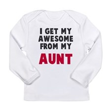 Awesome from aunt Long Sleeve T-Shirt