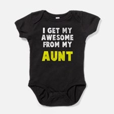 Awesome from aunt Baby Bodysuit