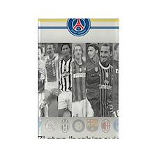Poster of player Paris-Saint Germ Rectangle Magnet