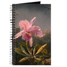 Cattleya Orchid and Hummingbirds Journal