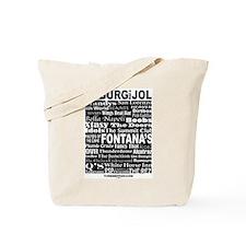 Cute Jazz music Tote Bag