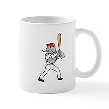 Catfish Baseball Hitter Batting Full Isolated Cart