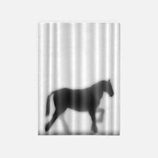 Draft Horse Silhouette 5'x7'Area Rug