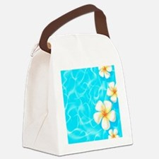 Tropical Ocean Canvas Lunch Bag