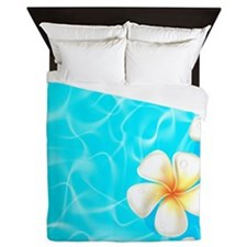 Tropical Ocean Queen Duvet