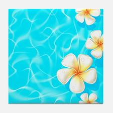 Tropical Ocean Tile Coaster