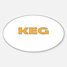 Keg Decal