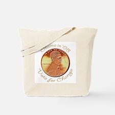 Obama Penny Tote Bag