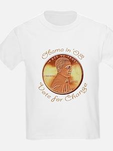 Obama Penny Kids T-Shirt