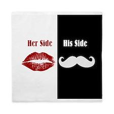 Her Side / His Side Queen Duvet