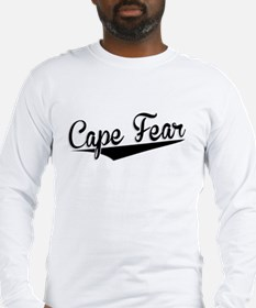 Cape Fear, Retro, Long Sleeve T-Shirt