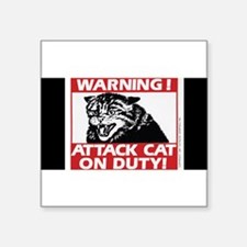 3-5x3attack_cat Sticker