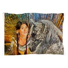 Horse Woman Pillow Case