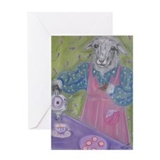Feed My Sheep Greeting Cards