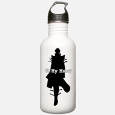 Oh My Money Water Bottle