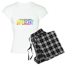 Divergent Colorful - I am so much more! Pajamas