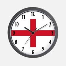 Flag of England Wall Clock