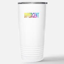 Divergent Colorful Travel Mug