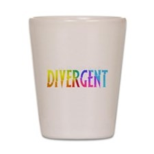 Divergent Colorful Shot Glass