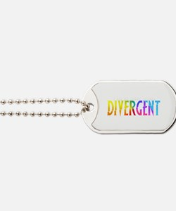 Divergent Colorful Dog Tags
