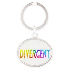 Divergent Colorful Keychains