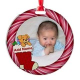 1st birthday Round Ornament