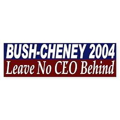 Bush-Cheney 2004: Leave No CEO Behind
