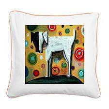 Otis Square Canvas Pillow