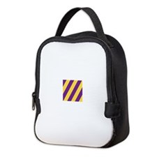 Roya Purple and Pure Gold Neoprene Lunch Bag