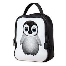 Cute Baby Penguin Neoprene Lunch Bag