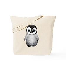 Cute Baby Penguin Tote Bag