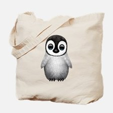 Cute Baby Penguin Tote Bag