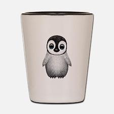 Cute Baby Penguin Shot Glass