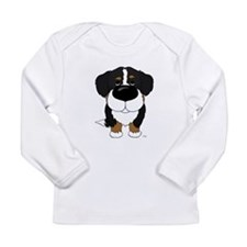 Big Nose Berner Long Sleeve Infant T-Shirt