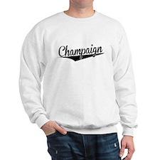 Champaign, Retro, Sweatshirt
