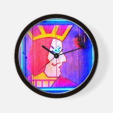 one eyed jacks Wall Clock