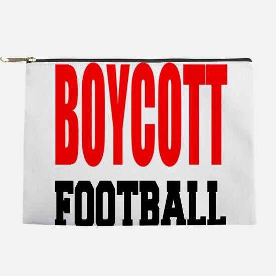 Boycott Football Makeup Pouch