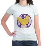Hen Buff Chantecler Jr. Ringer T-Shirt