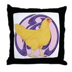 Hen Buff Chantecler Throw Pillow