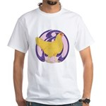 Hen Buff Chantecler White T-Shirt