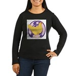 Hen Buff Chantecler Women's Long Sleeve Dark T-Shi