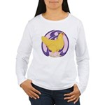 Hen Buff Chantecler Women's Long Sleeve T-Shirt