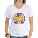 Hen Buff Chantecler Women's V-Neck T-Shirt