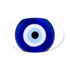 Evil Eye Oval Car Magnet