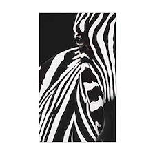 Zebra Sticker (rectangle)